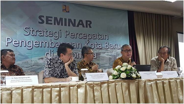 Strategy For New Town Development Acceleration In Indonesia