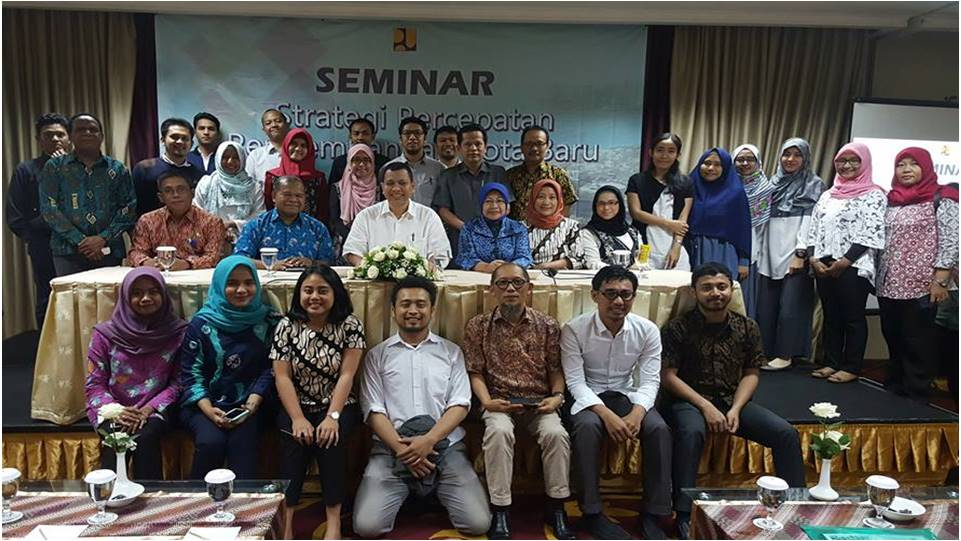Seminar On Strategy For New Town Development Acceleration In Indonesia